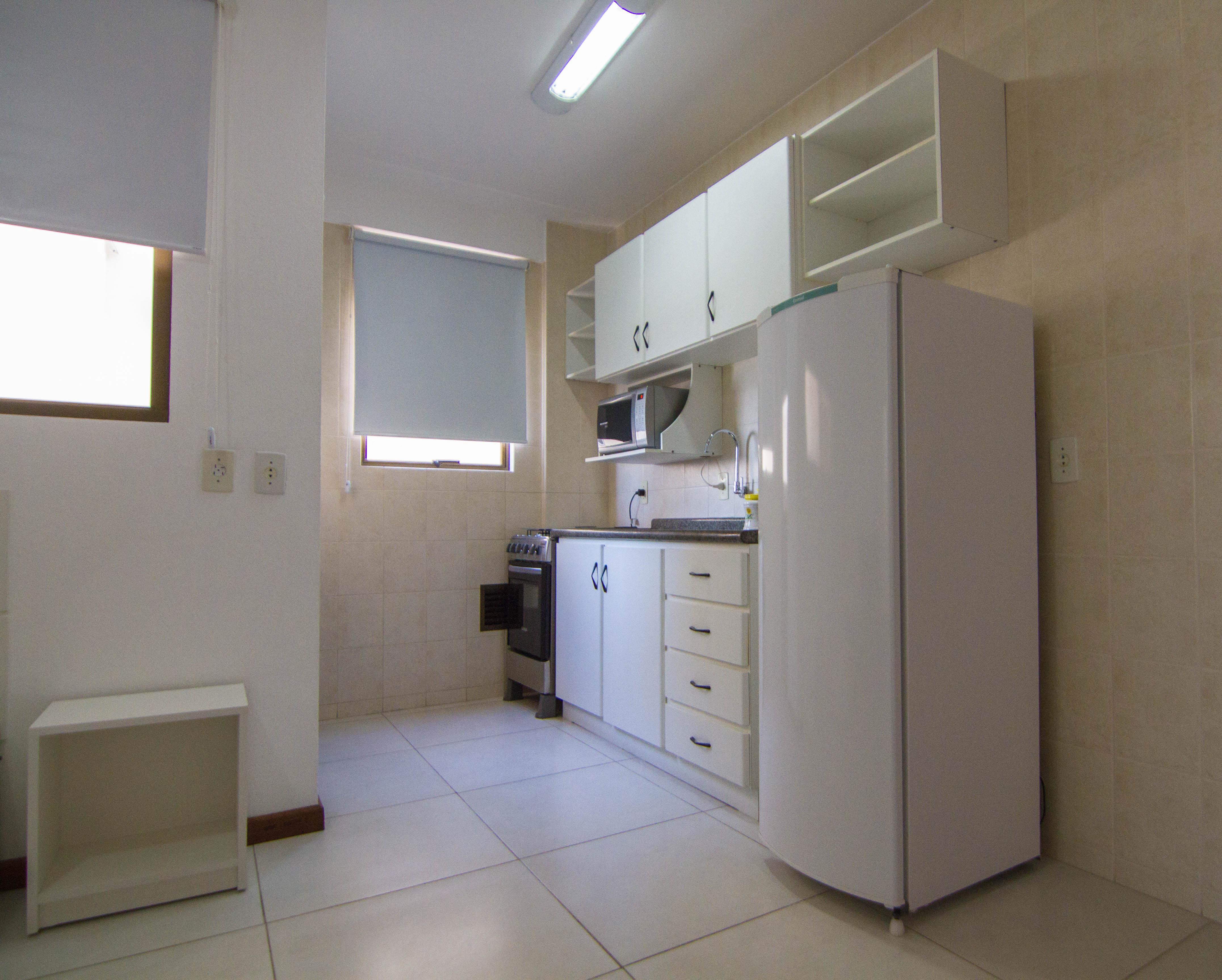 Flat 1 Quarto Superior Acomoda O Fragata Apart Hotel