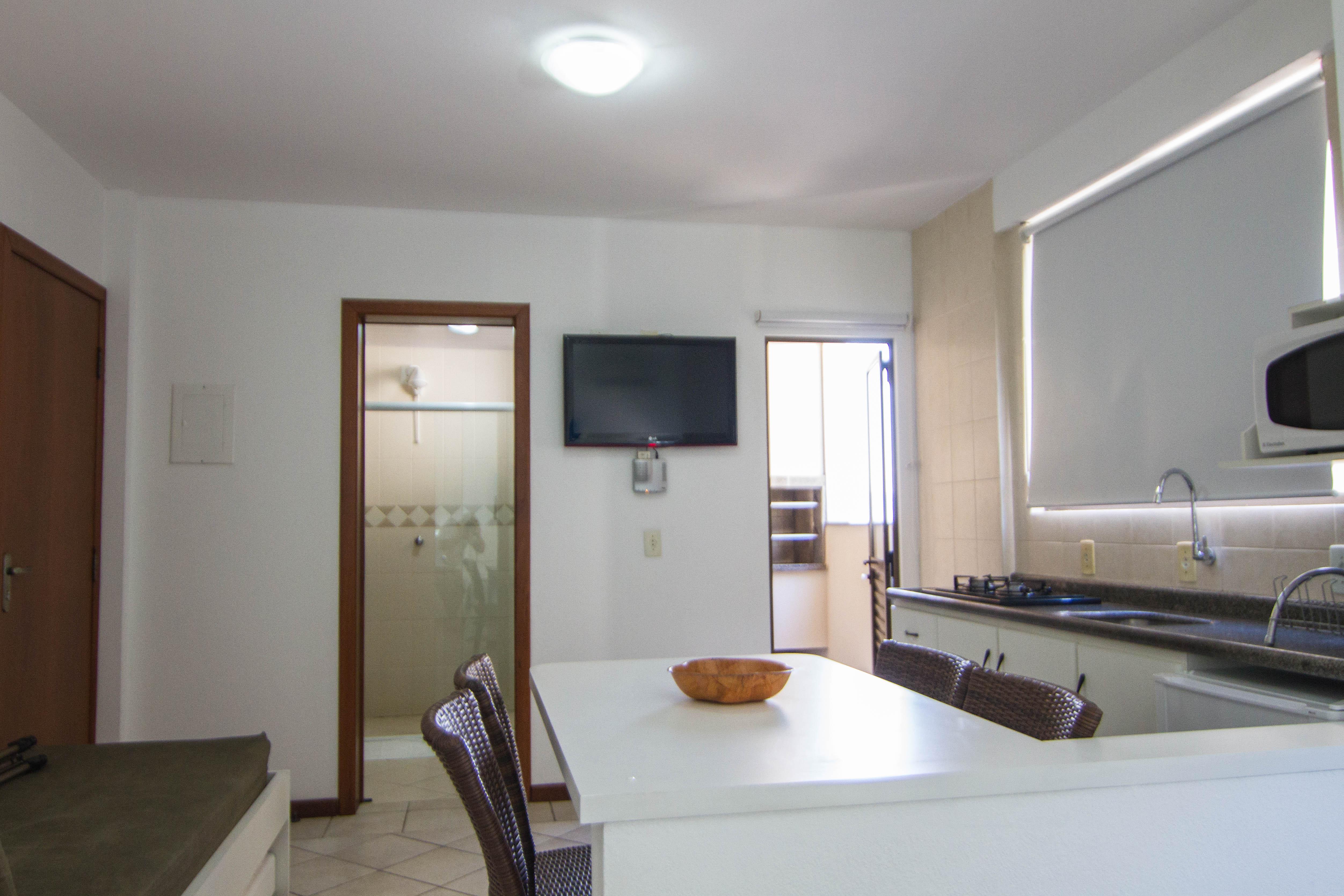 Flat Studio Acomoda O Fragata Apart Hotel